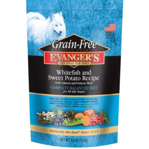 Thức ăn cho chó Evanger's Super Premium Whitefish & Sweet Potato Formula Grain-Free