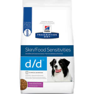 Thức ăn cho chó Hill's Prescription Diet Canine Skin Support Potato & Duck