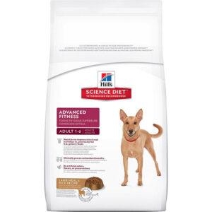 Thức ăn cho chó Hill's Science Diet Adult Advanced Fitness Lamb Meal & Rice