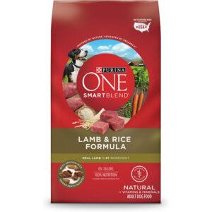Thức ăn cho chó Purina ONE SmartBlend Lamb & Rice Formula Adult Premium