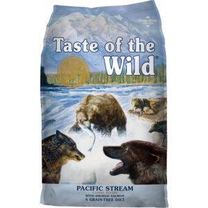 Thức ăn cho chó Taste of the Wild Pacific Stream Grain-Free