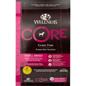 Thức ăn cho chó Wellness CORE Grain-Free Small Breed Turkey & Chicken Recipe