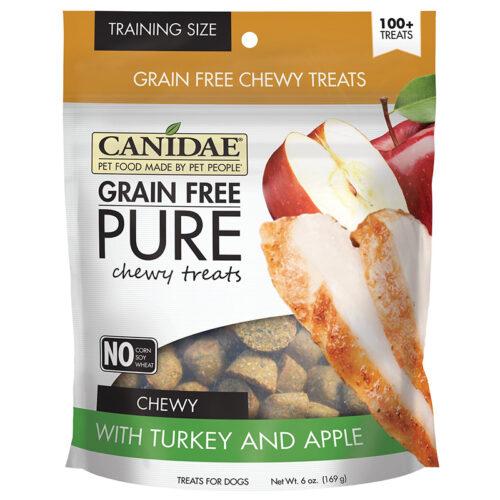 Bánh thưởng cho chó CANIDAE Grain-Free PURE Turkey & Apple Chewy