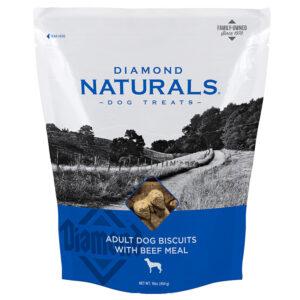 Bánh thưởng cho chó Diamond Naturals Adult Biscuits Beef