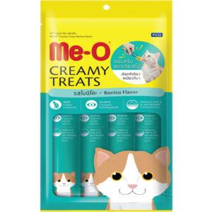 Bánh thưởng cho mèo Me-O Creamy Treats Bonito Flavor