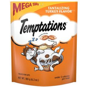 Bánh thưởng cho mèo Temptations Tantalizing Turkey Flavor