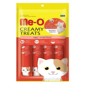 Bánh thưởng cho mèo Me-O Creamy Treats Crab Flavor