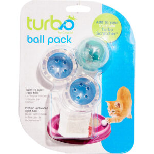 Bergan Twinkle Ball For Turbo Scratcher Star Chaser Cat Toy LED Replacement Ball