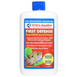 Nước lọc bể cá Dr. Tim's Aquatics First Defense Stress