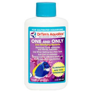 Nước lọc mùi bể cá Dr. Tim's Aquatics One & Only for Saltwater