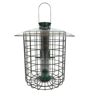 Ống thức ăn cho chim Droll Yankees Sunflower Domed Cage