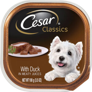 Pate cho chó Cesar Classics Pate with Duck