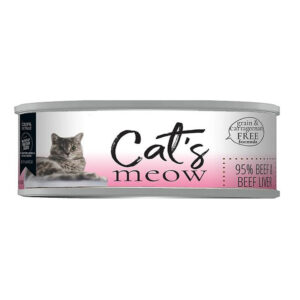Pate cho mèo Dave's Pet Food Beef & Beef Liver