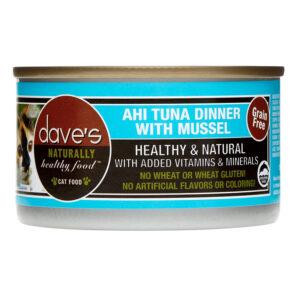 Pate cho mèo Dave's Pet Food Healthy Ahi Tuna with Mussel