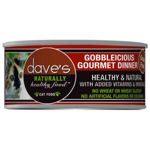 Pate cho mèo Dave's Pet Food Healthy Gobbleicious Gourmet