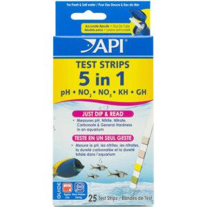 Que đo các chỉ số bể cá API 5 in 1