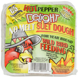 Thức ăn cho chim C&S Hot Pepper Delight No Melt Suet Dough