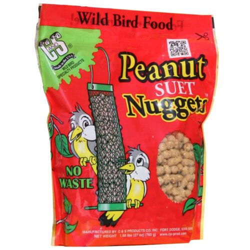 Thức ăn cho chim C&S Peanut Suet Nuggets