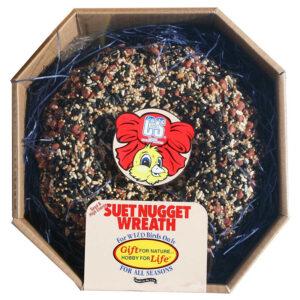 Thức ăn cho chim C&S Seed & High Energy Suet Nugget Wreath