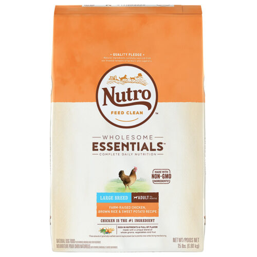 Thức ăn cho chó Nutro Wholesome Essentials Adult Chicken Brown Rice & Sweet Potato