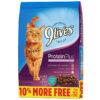 Thức ăn cho mèo 9 Lives Protein Plus with Chicken & Tuna Flavors