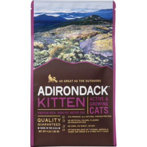Thức ăn cho mèo Adirondack Kitten Protein-Rich High-Fat for Active & Growing Cats Recipe