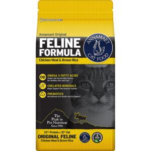 Thức ăn cho mèo Annamaet Chicken Meal & Brown Rice Original Formula