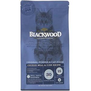 Thức ăn cho mèo Blackwood Chicken Meal & Corn Recipe Original