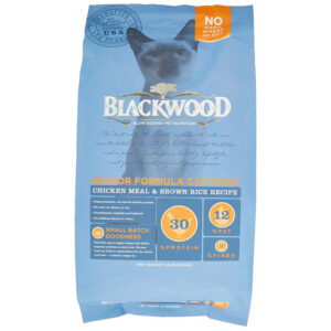 Thức ăn cho mèo Blackwood Chicken Meal & Rice Recipe Indoor