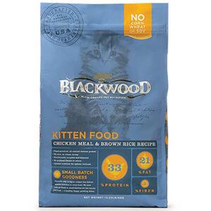 Thức ăn cho mèo Blackwood Chicken Meal & Rice Recipe Kitten