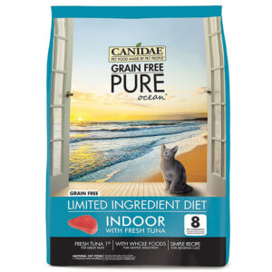 Thức ăn cho mèo CANIDAE Grain-Free PURE Ocean with Tuna Indoor Formula Limited Ingredient Diet