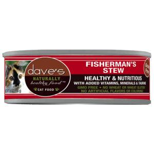 Thức ăn cho mèo Dave's Pet Food Healthy Fisherman's Stew