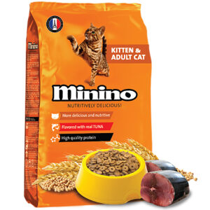 Thức ăn cho mèo Minino Nutritively Delicious