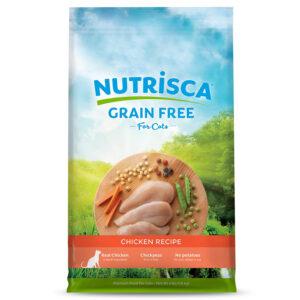 Thức ăn cho mèo Nutrisca Grain-Free Chicken Recipe