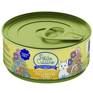 Thức ăn ướt cho mèo Petite Cuisine Mother Petunia's Yellow Fin Tuna