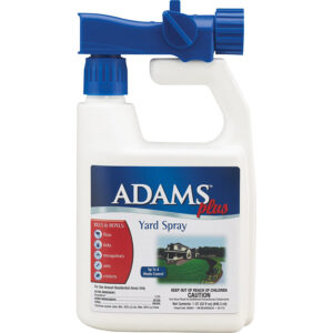 Thuốc xịt bọ chét chó Adams Plus Flea & Tick Yard Spray