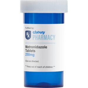 Thuốc kháng sinh cho chó mèo Metronidazole (Generic)