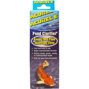Thuốc khử trùng bể cá Acurel E Pond Water Clarifier