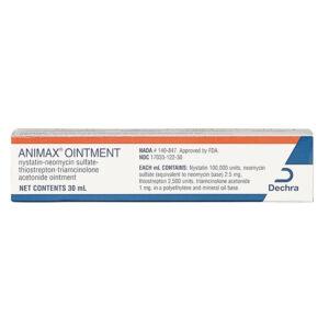 Thuốc mỡ viêm tai cho chó mèo Animax Ointment