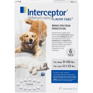 Thuốc tẩy giun cho chó mèo Interceptor