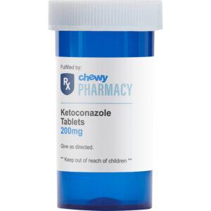 Thuốc trị bệnh nấm ở chó mèo Ketoconazole (Generic)