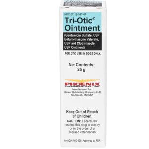 Thuốc trị bệnh ở tai cho chó Tri-Otic (Gentamicin / Betamethasone / Clotrimazole)