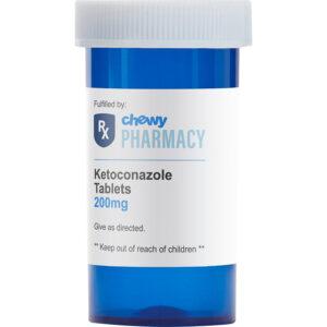 Thuốc trị nấm da cho chó mèo Ketoconazole (Generic)