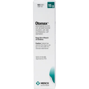 Thuốc trị nhiễm trùng tai cho chó Otomax (Gentamicin / Betamethasone / Clotrimazole)