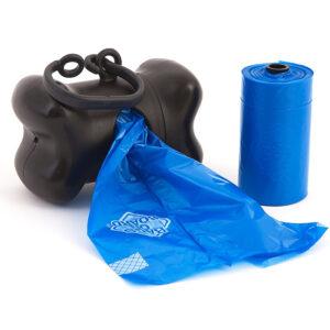 Túi đựng phân chó Bags on Board Bone Dispenser, Black