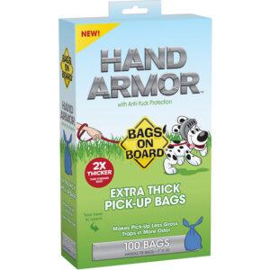 Túi đựng phân chó Bags on Board Hand Armor Extra Thick Pick-Up Bags