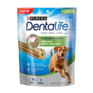 Xương gặm sạch răng cho chó DentaLife Oral Large