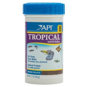 Thức ăn cho cá API Sinking Mini Pellets Tropical