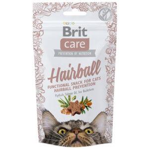 Bánh thưởng cho mèo Brit Care Cat Snack Hairball
