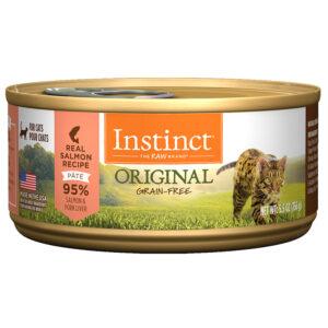 Pate cho mèo Instinct Original Real Salmon